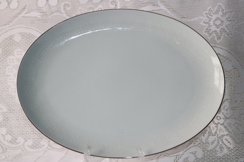 Rose China Adriana Oval Serving Platter