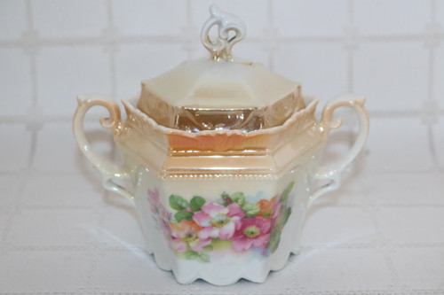 Germany  Sugar Bowl with Lid