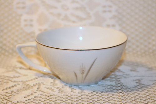 Fine China of Japan Platinum Wheat Coffee Cup