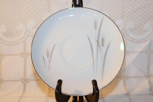 Fine China of Japan Platinum Wheat Saucer