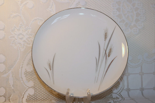 Fine China of Japan Platinum Wheat Dinner Plate
