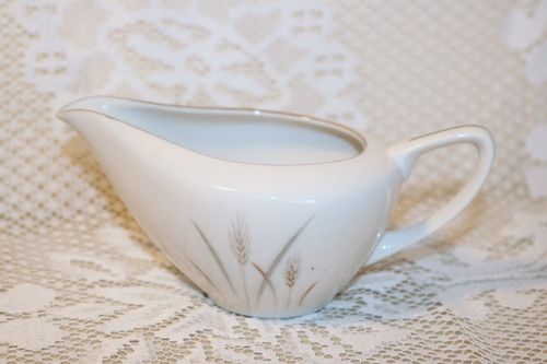 Fine China of Japan Platinum Wheat Creamer