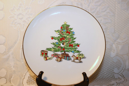 Tienshan Holiday Hostess Small Tidbit Plate