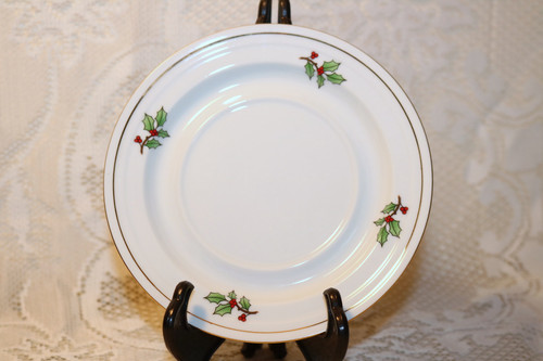 Tienshan Holiday Hostess Saucer
