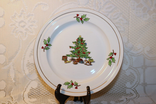 Tienshan Holiday Hostess Salad Plate