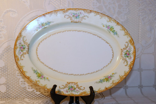 "Noritake N848 11 3/4"" Oval Serving Platter"