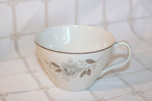 Windsor Rose China Blue Roses Coffee Cup