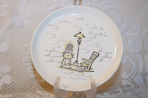 Marcrest Gay Nineties Bread & Butter Plate