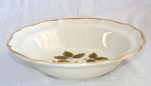 Mikasa Strawberry Festival Round Vegetable Serving Bowl