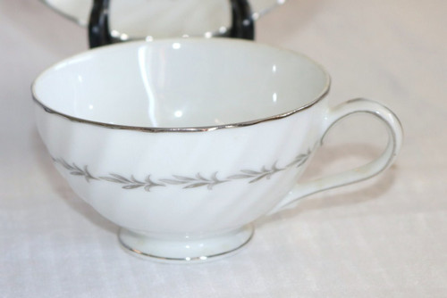 Coreling Fine China Bridal Wreath Coffee Cup