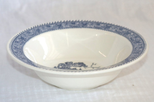Homer Laughlin Co Shakespeare Country Blue Cereal Bowl