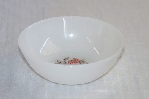 Anchor Hocking Fire King Fleurette Berry Bowl
