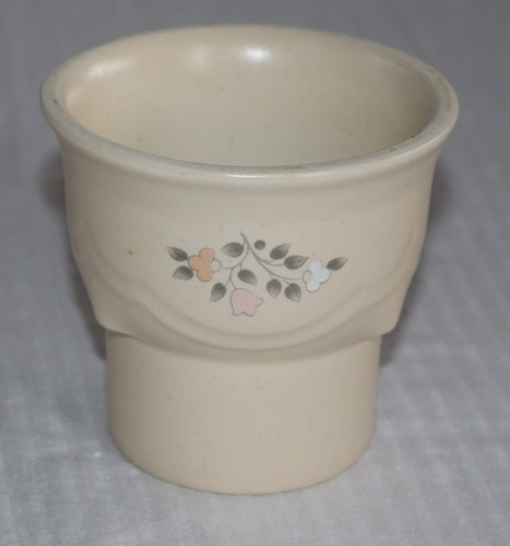 Pfaltzgraff Remembrance Hurricane Lamp Bottom Tea Light Holder
