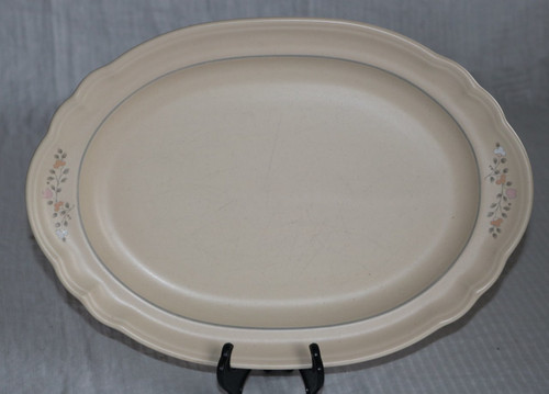 Pfaltzgraff Remembrance Oval Serving Platter