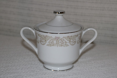 Diamond China Regal Sugar Bowl with Lid