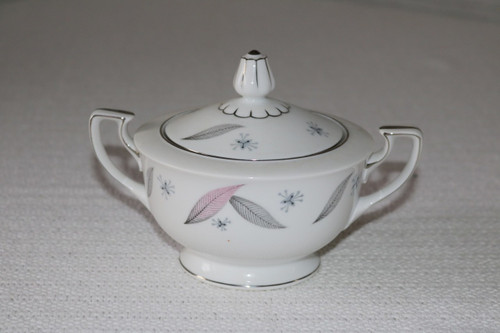 Narumi Fine China Serenade Sugar Bowl with Lid