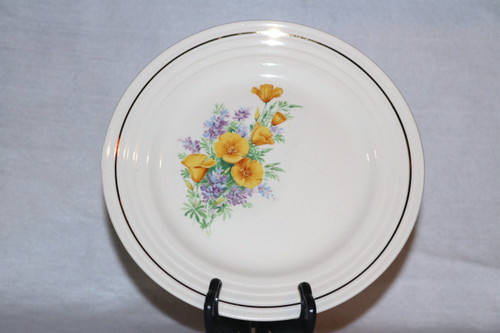 Universal Potteries, Inc. Luncheon Plate