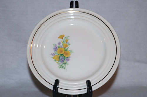 Universal Potteries, Inc. Bread & Butter Plate