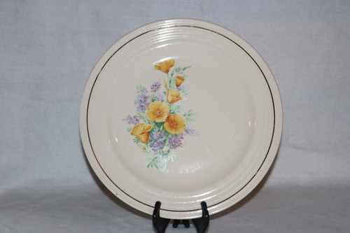Universal Potteries, Inc. Dinner Plate