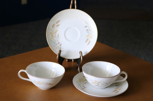 Fine China of Japan Autumn Wheat Saucer