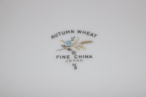 Fine China of Japan Autumn Wheat Backstamp