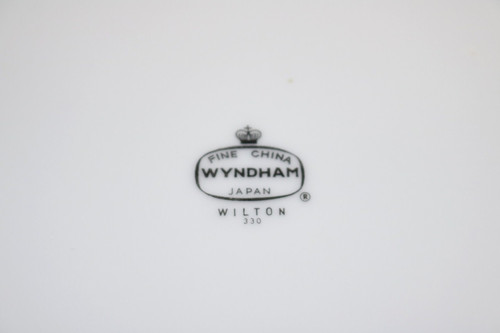 Wyndham Fine China Wilton Backstamp