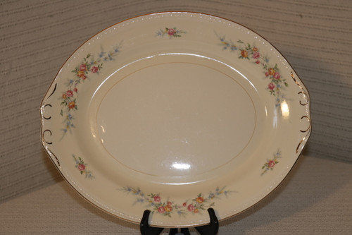 Homer Laughlin Co Cashmere Oval Serving Platter