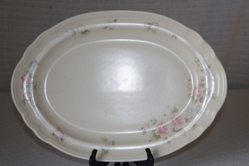 Pfaltzgraff Tea Rose Oval Serving Platter