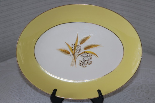 Century Service Autumn Gold Oval Serving Platter