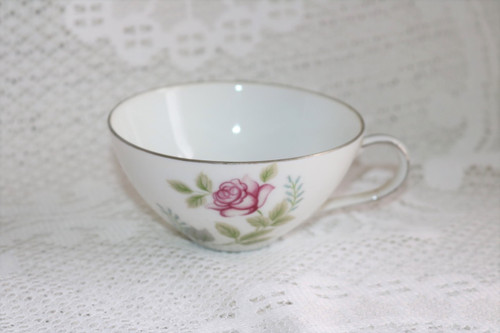 Summit Fine China Stem Rose Coffee Cup