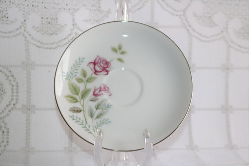 Summit Fine China Stem Rose Saucer