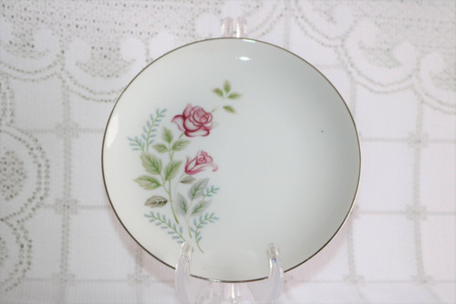 Summit Fine China Stem Rose Bread & Butter Plate