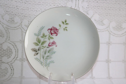 Summit Fine China Stem Rose Salad Plate