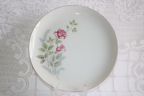 Summit Fine China Stem Rose Dinner Plate