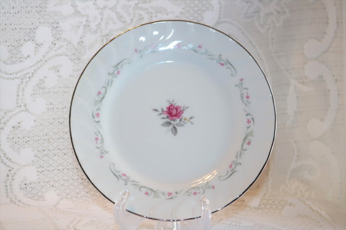 Fine China of Japan Royal Swirl Salad Plate