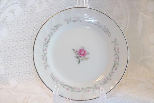 Fine China of Japan Royal Swirl Bread & Butter Plate