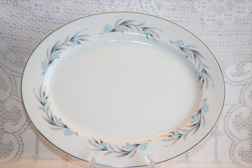 Johnson Brothers Snowhite Oval Serving Platter