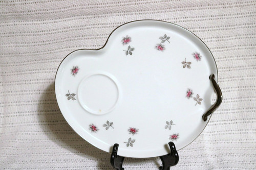 Unknown  Snack Plate with Cup Ring