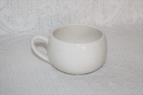 Metlox Shoreline White Coffee Cup
