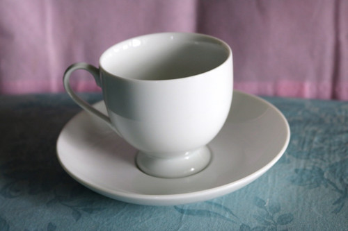 Mikasa Classic Flair White Coffee Cup