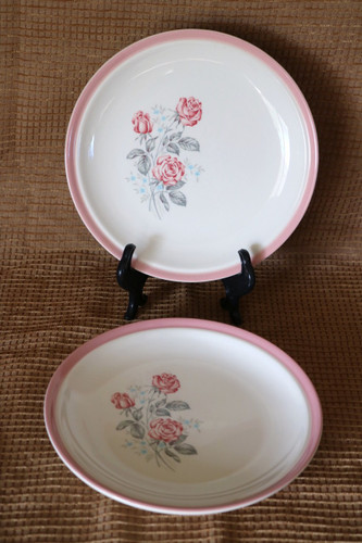 Cunningham & Pickett Dixie Rose Salad Plate