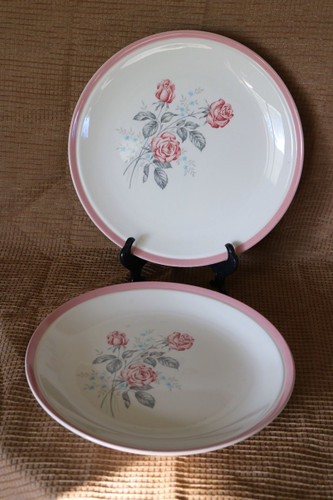 Cunningham & Pickett Dixie Rose Dinner Plate
