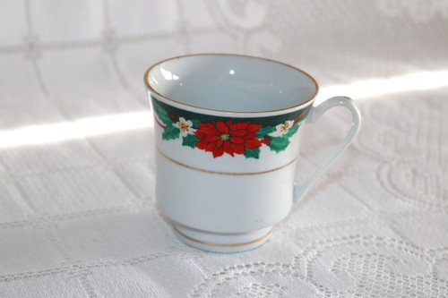 Tienshan Deck The Halls Coffee Cup