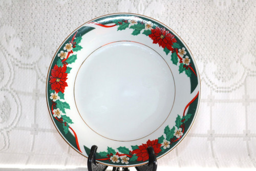Tienshan Deck The Halls Salad Plate