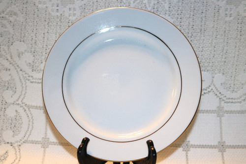 S.H.I. Fine China Golden Reflections Salad Plate