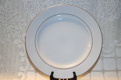 S.H.I. Fine China Golden Reflections Dinner Plate