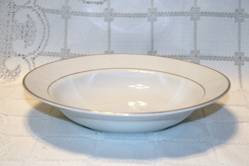 S.H.I. Fine China Golden Reflections Soup Bowl