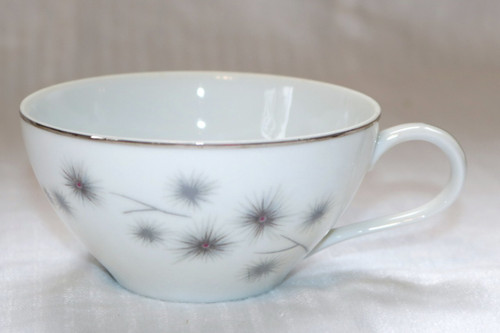 Creative Fine China Platinum Starburst Coffee Cup