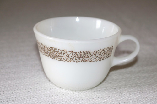 Pyrex Woodland Brown Coffee Cup
