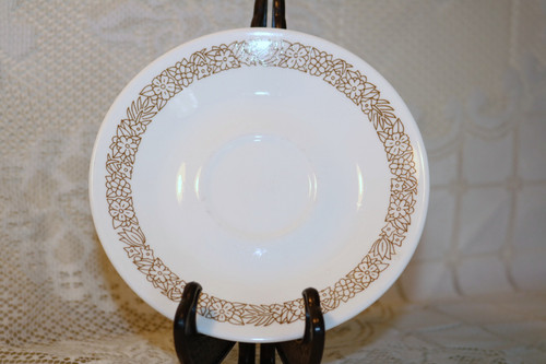 Corelle Corning Woodland Brown Saucer